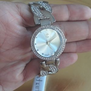 Beautiful Silver cuff watch NWT